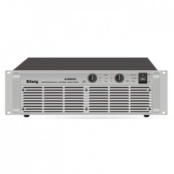 König - A-3500/S İki Kanal Power Amplifier