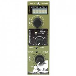 Radial Engineering - KoMiT 500 Serisi Kompresör Modülü