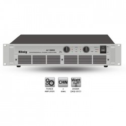 König - A-1300/S İki Kanal Power Amplifier