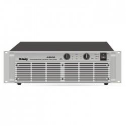 König - A-3500/S İki Kanal Power Amplifier