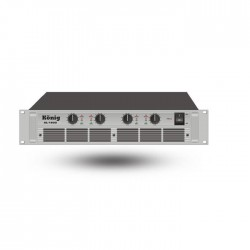König - AL-1600/S Dört Kanal Power Amplifer