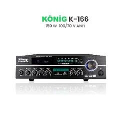 König - K-166 Hat Trafolu 150 Watt Power Amfi