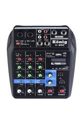 König - K-200 4 Kanal Stüdyo Deck Mikser