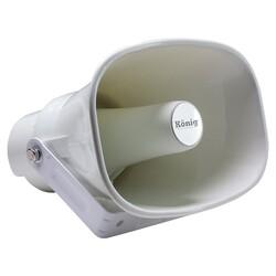 König - K-35S 30 Watt Abs Plastik Trafolu Horn Hoparlör