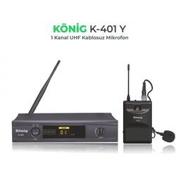 König - K-401 Kablosuz Yaka Mikrofon