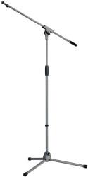 Konig Meyer - K&M Mikrofon Stand (21060-300-87) Ayarlanabilir Boom kollu mikrofon ayağı (Gri)