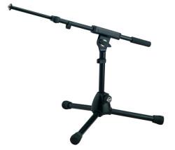 Konig Meyer - K&M Mikrofon Stand (25950-300-55) Ekstra alçak ayarlanabilir boom kollu mikrofon stand