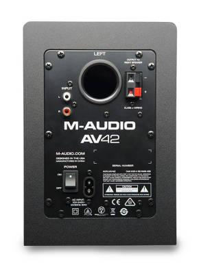 AV-42 Referans Monitör 40 Watt Masaüstü Referans Monitör