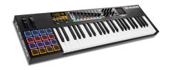 M-Audio - CODE 49 Black 49 tuş X/Y TouchPad, MIDI controller keyboard - Yeni Nesil Siyah