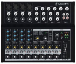 Mackie - Mix12FX 12 girişli 8 Kanallı Deck Mikser