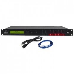 Mackie - SP260 Profesyonel 2 -Girişli 6 - Çıkışlı sistem işlemci