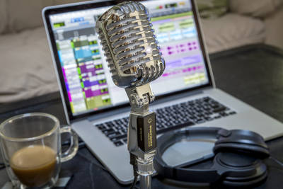 Retro Cast Usb Mikrofon