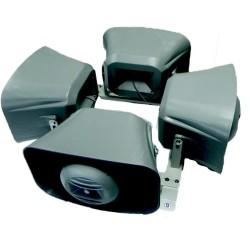 Maydanoz - Araç Üstü Ses Sistemi 4 Lü Komple Set Paket