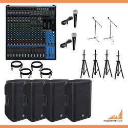Maydanoz - Canlı Müzik Ses sistemi Paketi - 1 ( Düğün, konferas.. Vb. )
