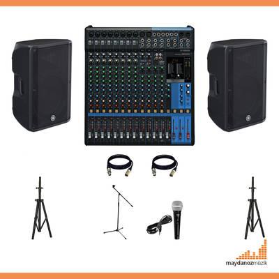 Canlı Müzik Ses sistemi Paketi - 3 ( Düğün, konferas.. Vb. )