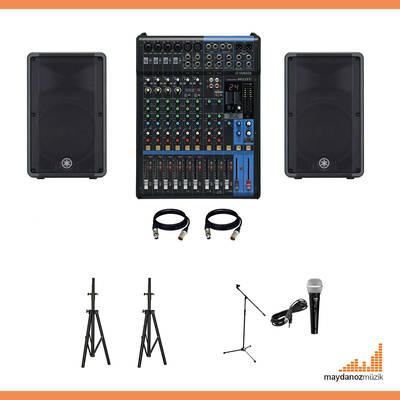 Canlı Müzik Ses sistemi Paketi - 2 ( Düğün, konferas.. Vb. )