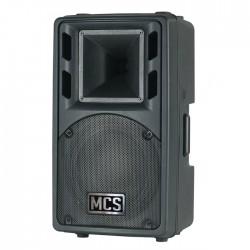 Mcs - 20A Aktif Plastik Kasa 8 inç 200W Rms Hoparlör