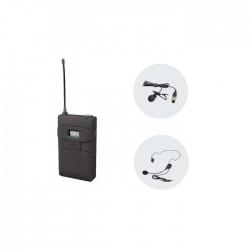 Mito - URYB Plastik Kasalı Kafa Tipi Mikrofon ve Bodypack Seti