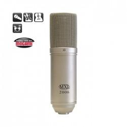 MXL Microphones - MXL Microphones 2006 1 inç Altın Diyafram Kapasitif Mikrofon