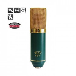 MXL Microphones - V67G 1inch Altın Diyafram Condenser Mikrofon