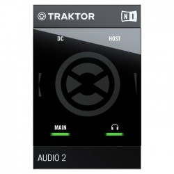 Native Ins. - Traktor Audio 2 MK2 2 Kanal Mini Ses Kartı