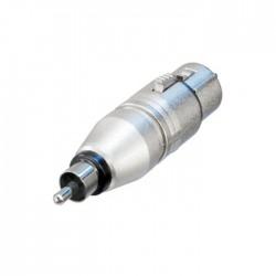 Neutrik - NA2FPMM Dişi XLR Konnektör ü RCA Konnektör e Çeviren Jak Dönüştürücü