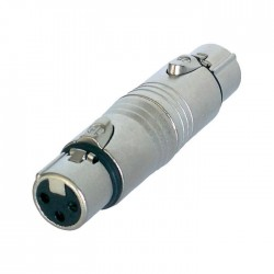 Neutrik - NA3FF Dişi XLR Uzatma Konnektörü