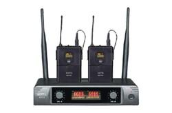Notel - NOT 16 YY UHF 2X16 Kanal Kablosuz Çift Yaka Mikrofon