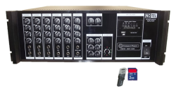 Notel - Not 2400 B12 2x400 Watt Seçim Aracı Amplifikatör 12 Volt