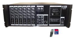 Notel - Not 2400 B24 2x400 Watt Seçim Aracı Amplifikatör 24 Volt