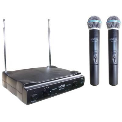 Not 270 EE Vhf Çift El Tipi Mikrofon