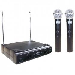 Notel - Not 700 EE Uhf Çift El Tipi Telsiz Mikrofon