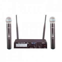 Notel - Not 800 EE Uhf Dijital Çift El Tipi Telsiz Mikrofon