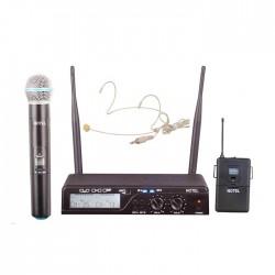Notel - Not 800 EY Uhf Dijital 1 El 1 Yaka Telsiz Mikrofon