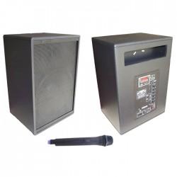 Notel - Not AKH 320A Portatif Akülü Kabin Hoparlör 1 El Telsiz 100W Usbli 12inç