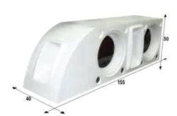 Notel - Not SC3038 21D 1000 Watt İkili Polyester Fiber Hoparlör Seti (Dolu)