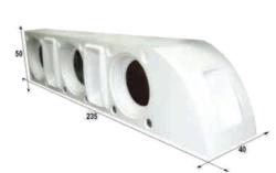 Notel - Not SC3038 34D 4300 Watt Üçlü Polyester Fiber Kabin Hoparlör (Dolu)