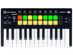 Novation - Launchkey Mini Mk2 25 Tuşlu Midi Klavye