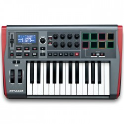 Novation - Impulse 25 Midi Kontroller Klavye