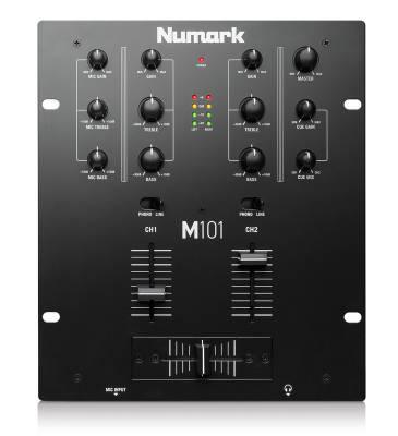 M101 Mixer 2 Kanal DJ Mixer