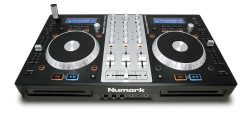 Numark - MixDeck Express CD/USB Playback, Çift CD/MP3 çalıcı, USB stick destekli Premium DJ kontroller