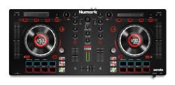Numark - MixTrack Platinum Serato DJ için komple çözüm sunan 4-Deck kontroller