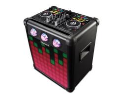 Numark - PARTYMIX PRO Aktif hoparlörlü, Pilli,DJ kontroller combo