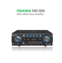 Osawa - HD-510 100 Watt BT-USB-SD Stereo Mikser Anfi