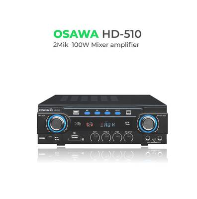 HD-510 100 Watt BT-USB-SD Stereo Mikser Anfi