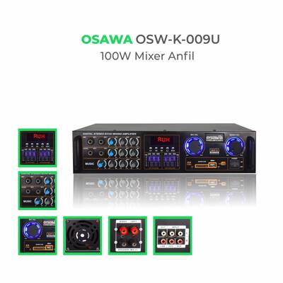 K-009U 100W Stereo Mixer Anfi