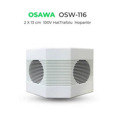 OSW-116 Çift Yönlü 16 Cm Sütun Hoparlör