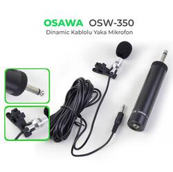 Osawa - OSW-350 Kablolu Yaka Mikrofonu