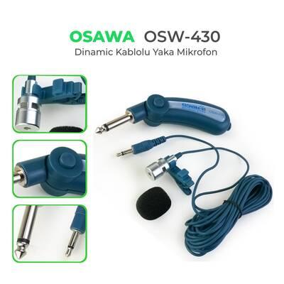 OSW-430 Yaka Mikrofonu
