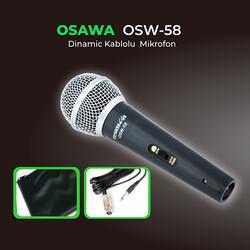 Osawa - Osw-58 Kablolu El Mikrofonu